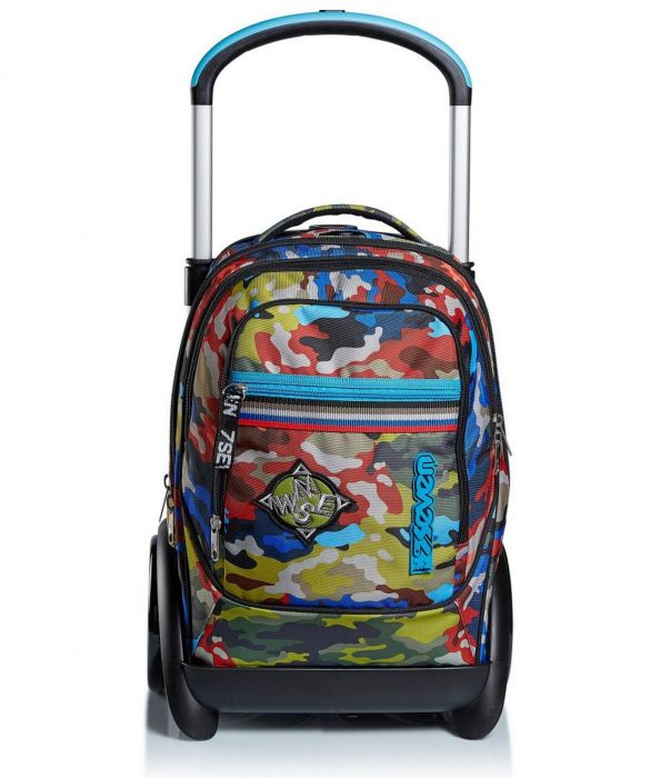 Trolley Backpack Seven Tyre Adventure Camo