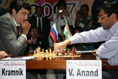 Kramnik Anand Mexico 2008