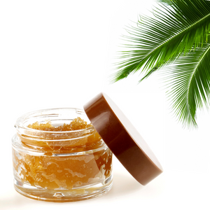 Toasted Coconut Lightening Lip & Face Scrub - Beauty by Millie B