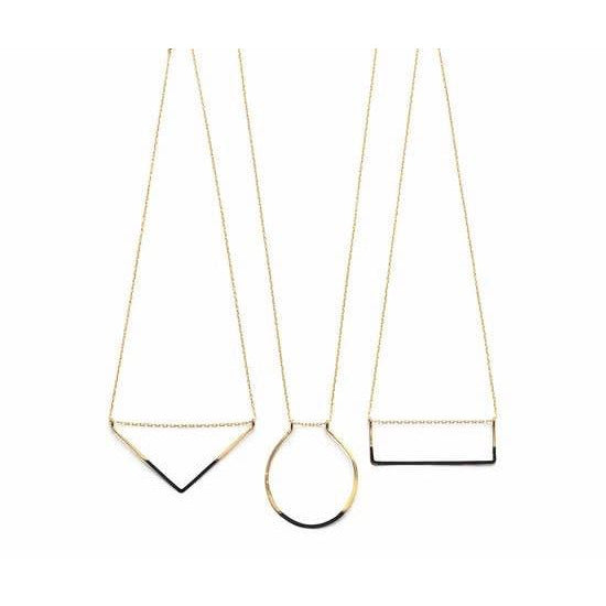 Primary Shapes Necklace