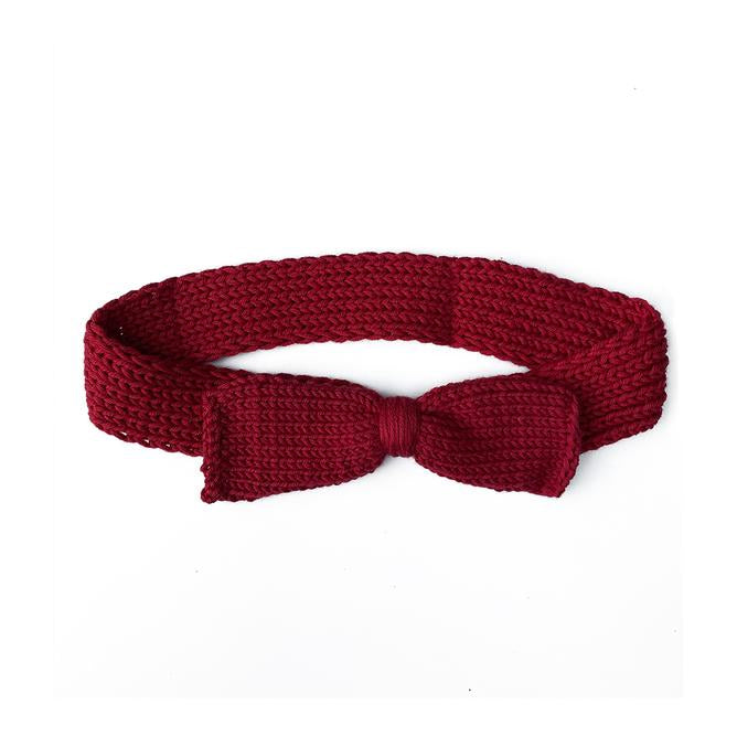 Butterfly Claret Red Hair Band