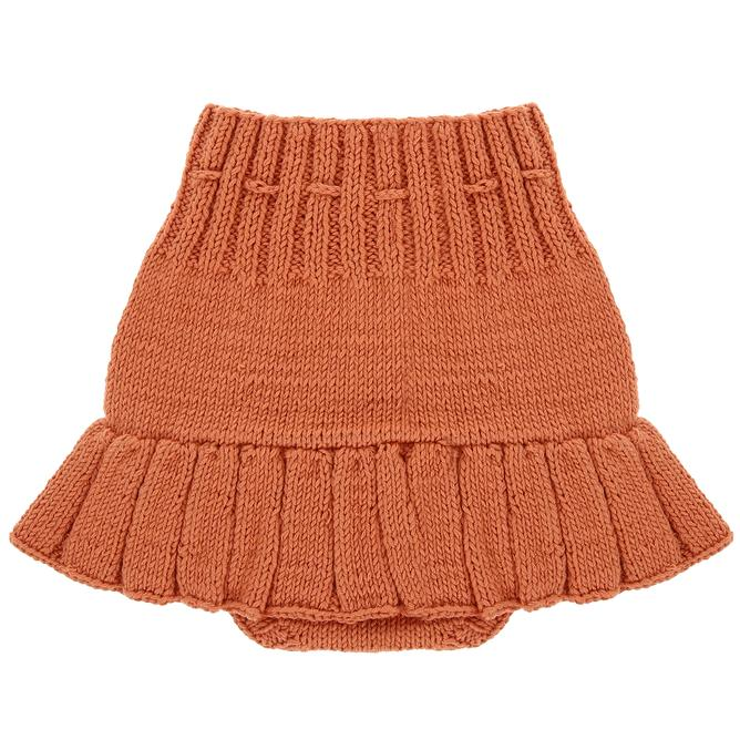Frosty Orange Skirt