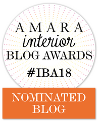 We've Been Nominated for the Amara Interior Blog Awards