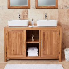 Introducing the Mobel Oak Bathroom Collection