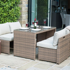 Miami 4 Seater Dining Set by Harley and Lola