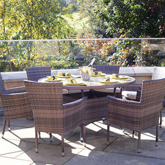 Auckland 6 Seater Dining Table by Harley and Lola