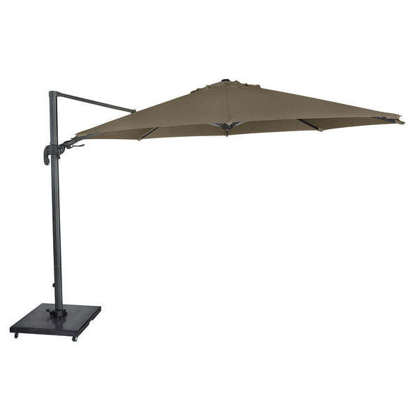 Pacific Lifestyle Solarflex 3.5m Taupe Parasol by Harley & Lola