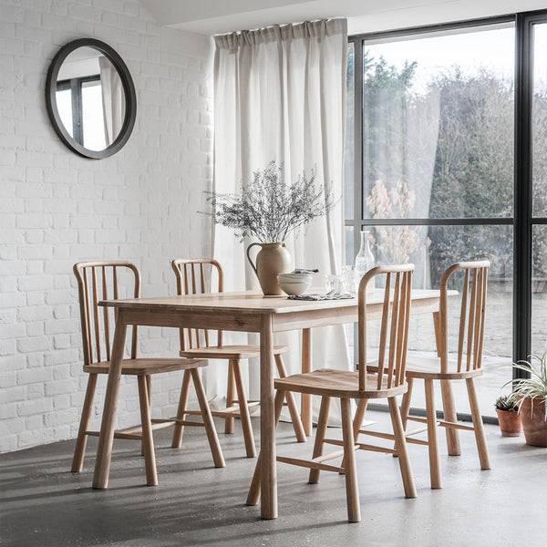 Frank Hudson Furniture Wycombe Dining Table by Harley & Lola