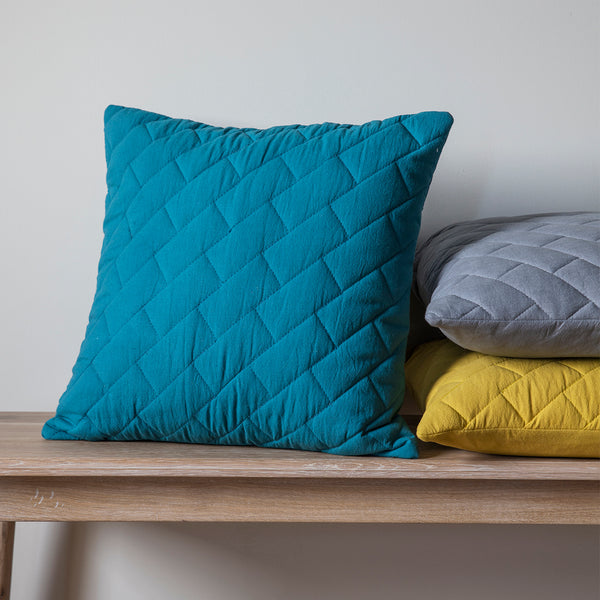 Lola Quilted Cushion by Harley & Lola