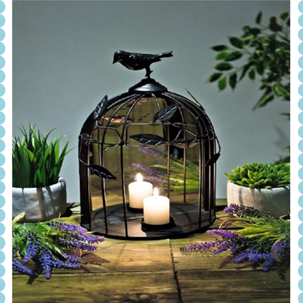 Mirrored Birdcage Light by Harley & Lola