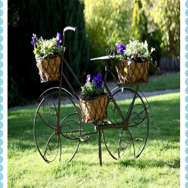 Bicycle Plant Holder by Harley & Lola