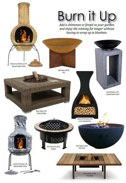 Maui Fire Pit by Harley & Lola