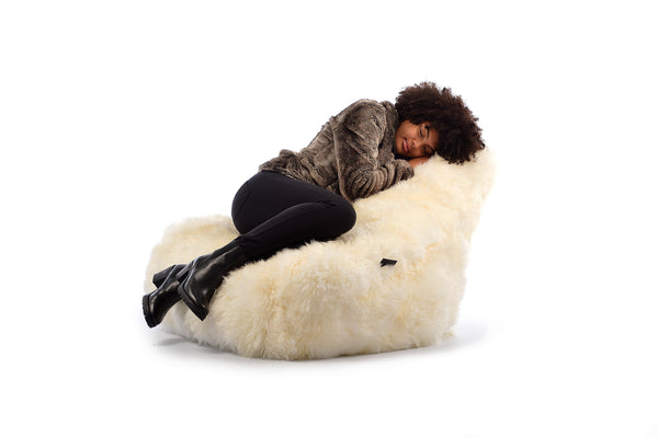 Extreme Lounging Fur Bean Bag by Harley & Lola