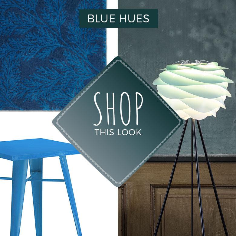 Shop The Look: Blue Hues