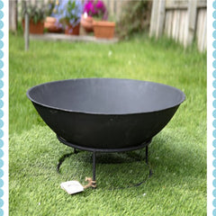Black Fire Pit by Harley and Lola