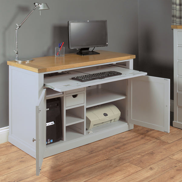 Chadwick Oak Desk by Harley & Lola