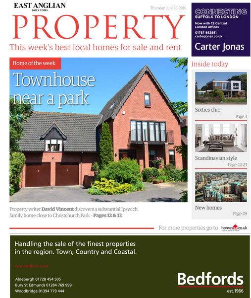 Property, East Anglia Daily Times, Scandi Style June 2016