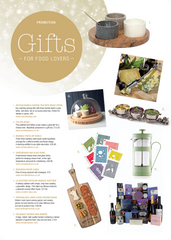 Gifts for Food Lovers, Sussex Life November 2016