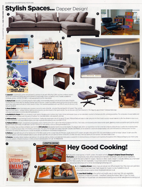 GQ Magazine Stylish Spaces April 2015