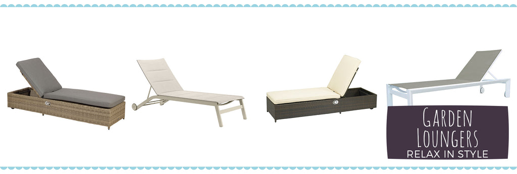 Garden Loungers and Daybeds