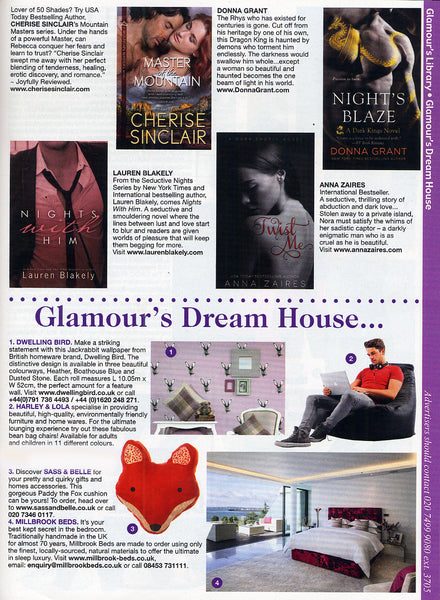 Glamour Magazine Dream House March 2015