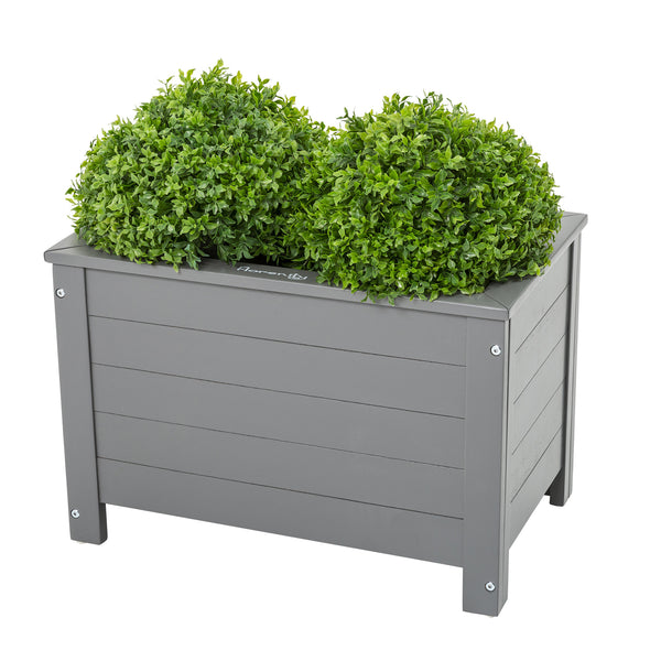 Grigio Rectangular Planter by Harley & Lola