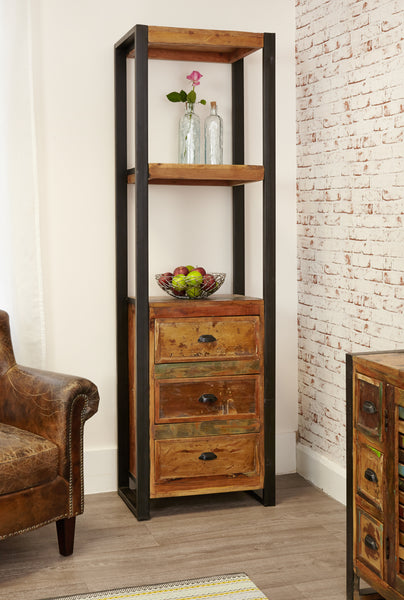 Baumhaus Urban Chic Alcove Bookcase (with drawers) by Harley & Lola