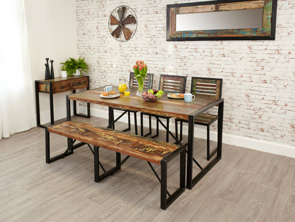 Baumhaus Urban Chic Large Dining Table by Harley & Lola