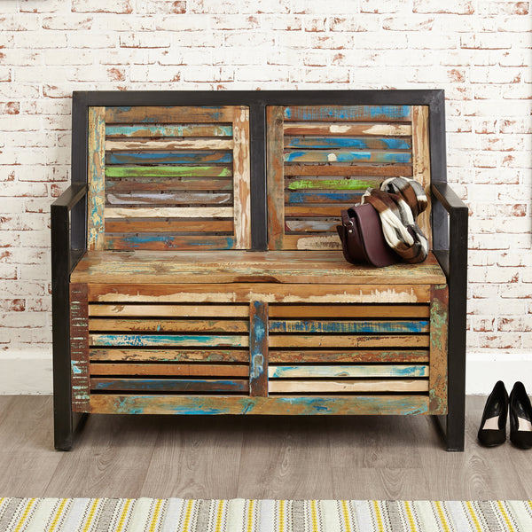 Urban Chic Storage Monks Bench by Harley & Lola
