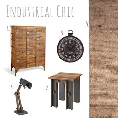 Industrial Chic by Harley and Lola