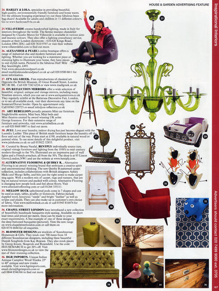 House & Garden Inspirational Interiors March 2015