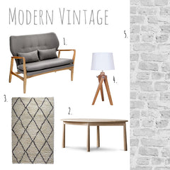 Modern Vintage by Harley and Lola