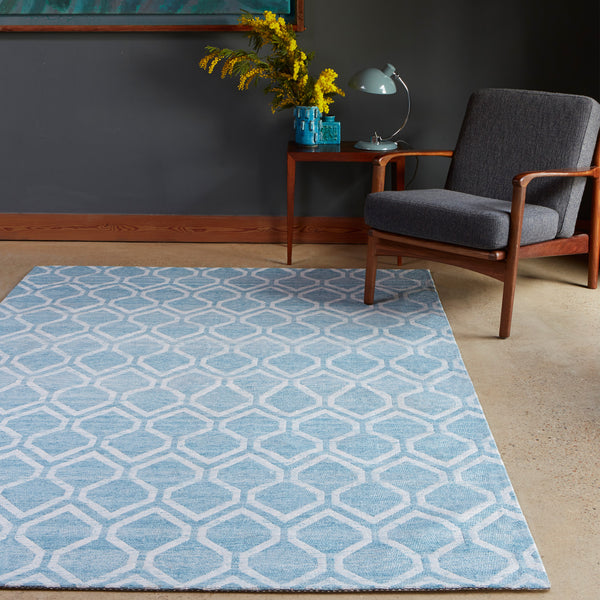 Plantation Rug Co. Medina Blue by Harley & Lola