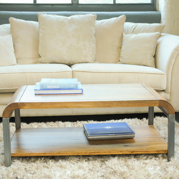 Lucy Lounge Coffee Table with Gunmetal Legs by Harley & Lola