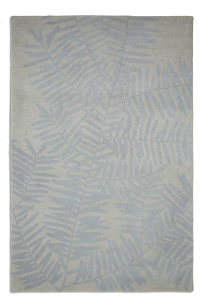 Plantation Rug Co. Palm Blue and Grey by Harley & Lola