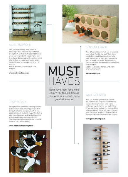 Hoxton Wine Rack by Harley & Lola