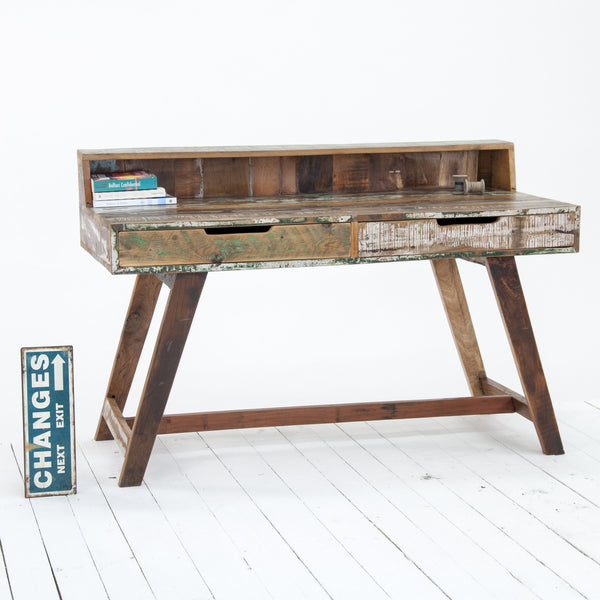 Driftwood Reclaimed Writing Desk by Harley & Lola