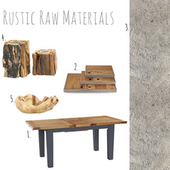 Rustic Raw Materials by Harley and Lola
