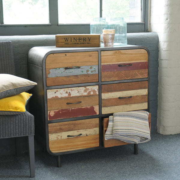 Nordic Reclaimed Retro Sideboard by Harley & Lola