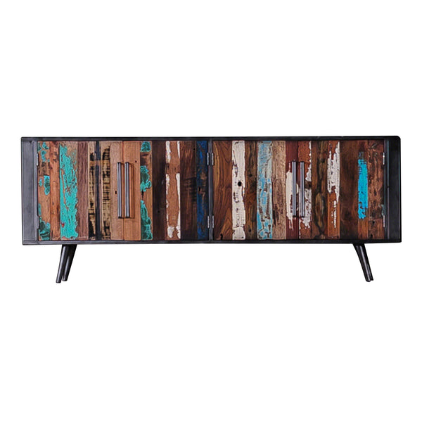 Nordic Reclaimed TV Cabinet with Doors by Harley & Lola