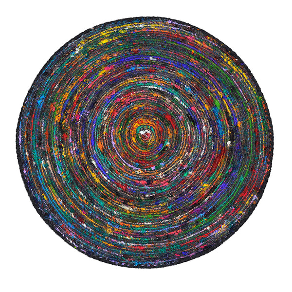 Silk Lane Large Round Rug by Harley & Lola