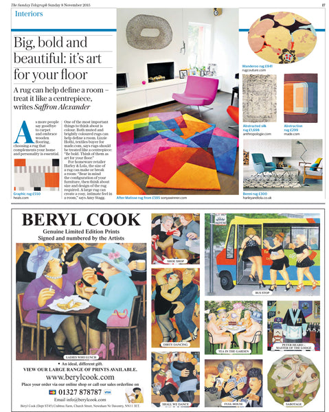 The Sunday Telegraph Big Bold & Beautiful November 2015
