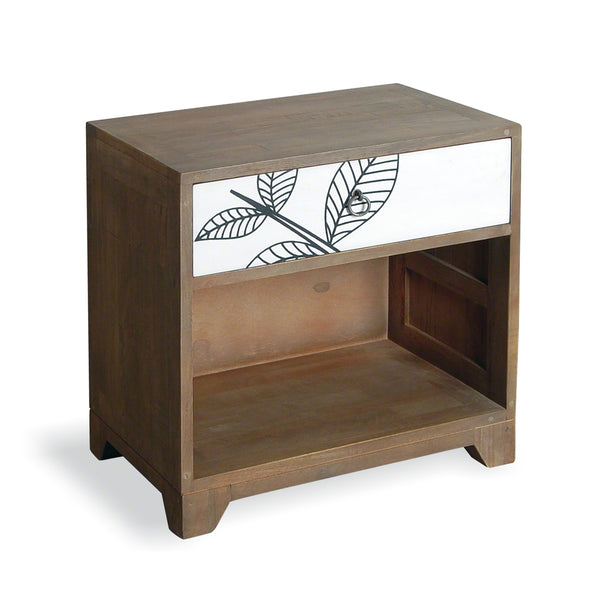 Dalston Leaf Motif Side Table by Harley & Lola