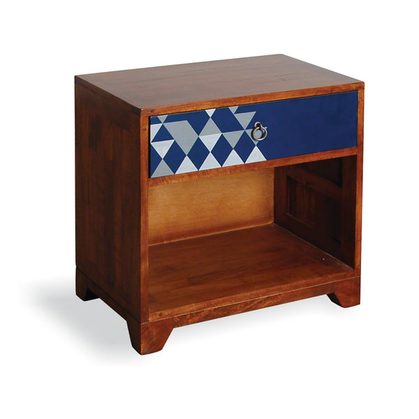 Bluebone Dalston Navy Side Table by Harley & Lola