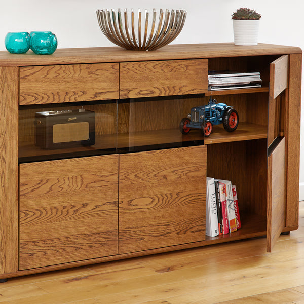 Olten Large Glazed Sideboard by Harley and Lola