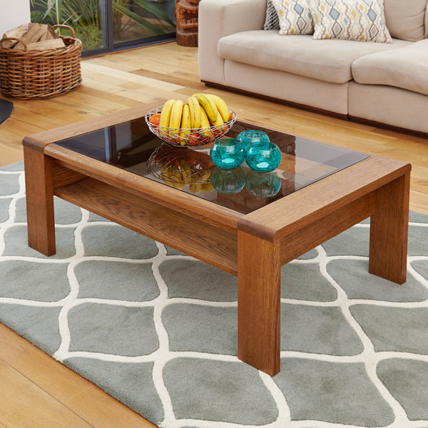 Olten Glasstop Coffee Table by Harley and Lola