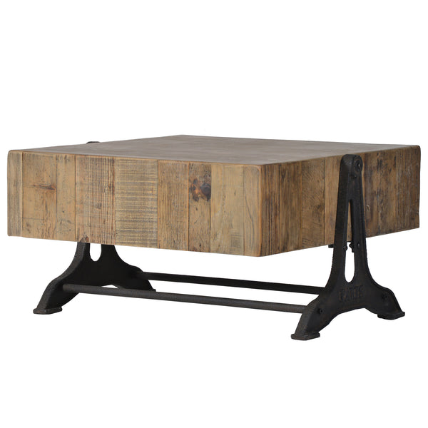 Saxo Industrial Coffee Table by Harley and Lola