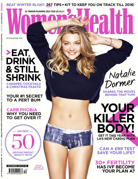 Women's Health Magazine December 2015