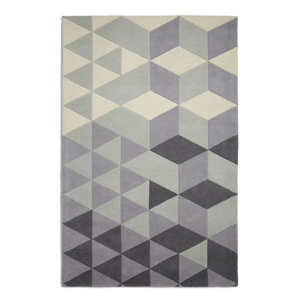 Plantation Rug Co. Cluster Grey/Green by Harley & Lola