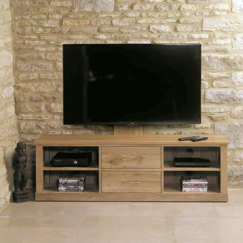 Baumhaus Mobel Oak Mounted Widescreen Television Cabinet by Harley & Lola